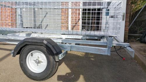 8 boat canoe trailer how stable mud guards are can be made of steel if required